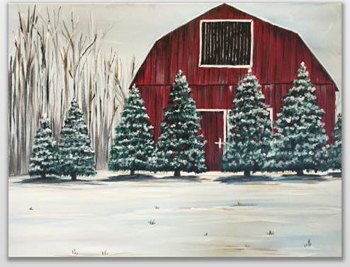 Paint Nite || Evergreen Farm