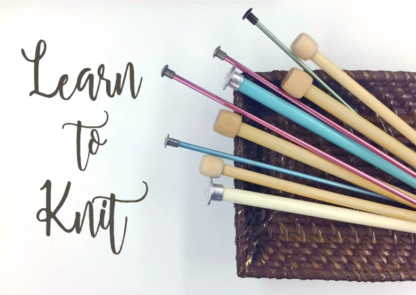 Learn How To Knit & Sip