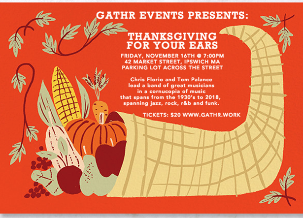 THANKSGIVING FOR YOUR EARS, A CORNUCOPIA OF SOUNDS!