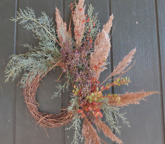 Whimsical Wreath Making with Rumphius Flowers