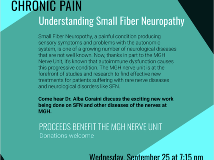 Chronic Pain: Understanding Small Fiber Neuropathy (MGH Nerve Research Unit)